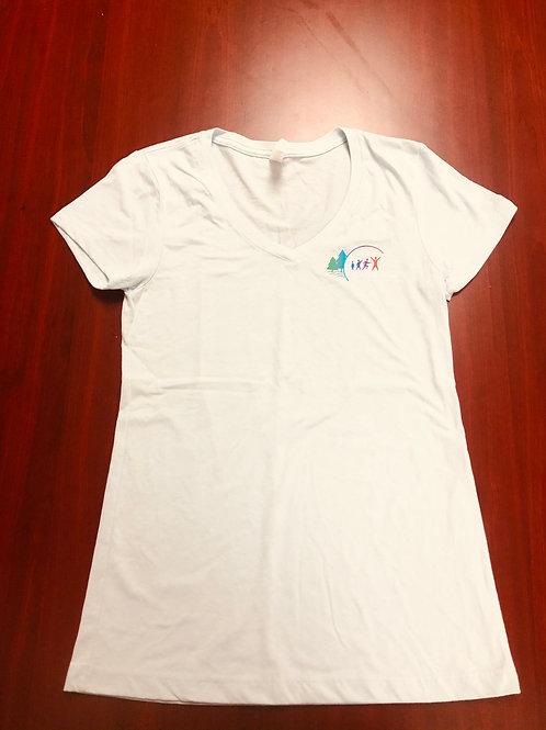 Agassiz Village Women's T-Shirt in Light Blue