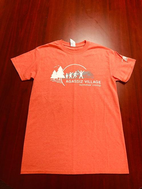Agassiz Village T-Shirt in Orange