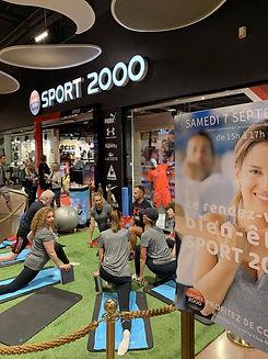 Sport2000 bien-être yoga