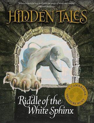 Hidden Tales - Riddle of the White Sphinx - SIGNED COPY