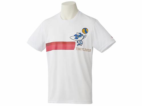 Tokyo 2020 Olympics Mascot T-Shirt - Volleyball