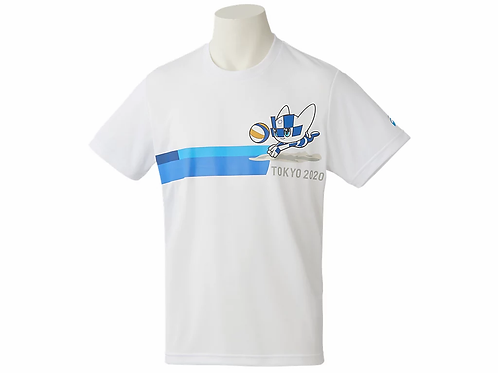 Tokyo 2020 Olympics Mascot T-Shirt - Beach Volleyball