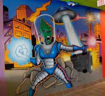 Alien Invasion at Tijuana Flats