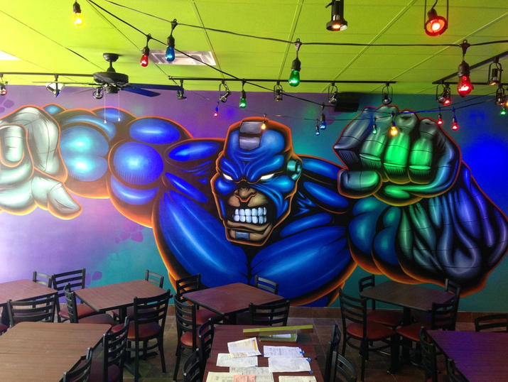 Super Hero & Tijuana Flats