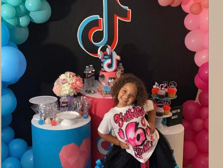 Airbrush T-Shirts For A Tik-Tok Worthy 6th Birthday Party