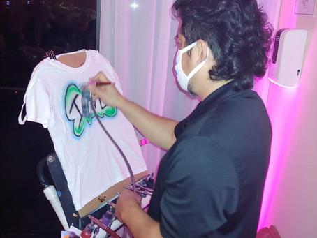 Airbrush T-Shirts At Sweet Sixteen