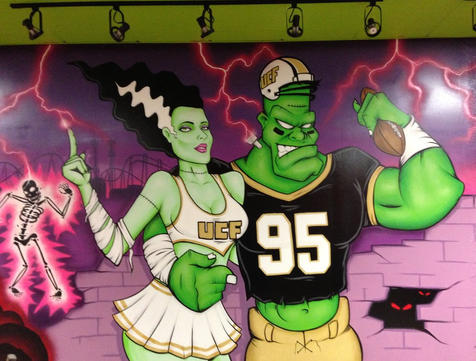 Unviverty Of Central Florida Grt's Frankenstiened at Tijuana Flats