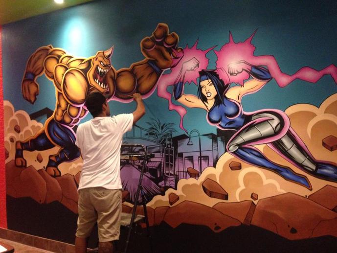 Super Hero at Tijuana Flats