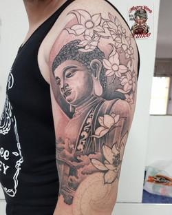 Japanese Style Buddha