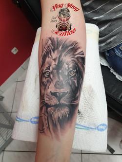 Löwen tattoo