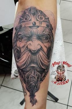 Wikinger Tattoo