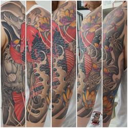 japan tattoo healde up