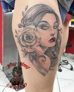 new traditional Tattoo healed Tattoo
