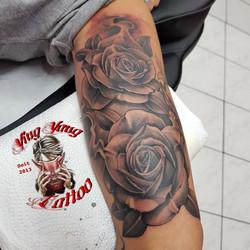 realistic rosen tattoo