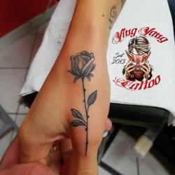 kleine feine Rose von John