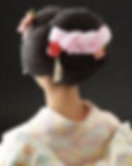 新日本髪ヘアセット