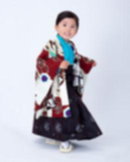 三歳男の子袴