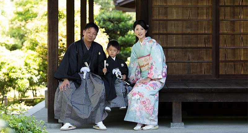 五歳男児袴