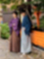 男性袴スタイル