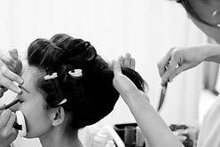 和髪メイキング
