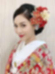 花嫁和装ヘアカタログ