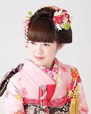 日本髪風ヘアセット