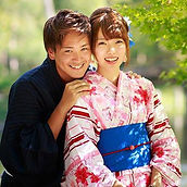 Oike Bettei machiya Yumeyakata Location de Kimono yukata réduction photo tatami jardin zen