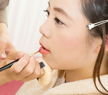 Hairstyling makeup kimono yukata rental experience machiya kyoto yumeyakata oike bettei photo