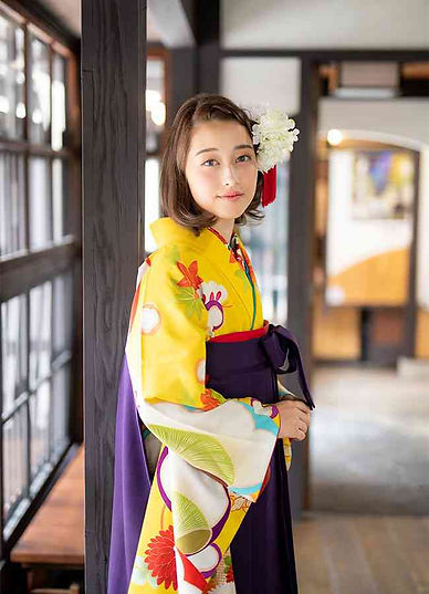 卒業式袴京町家撮影