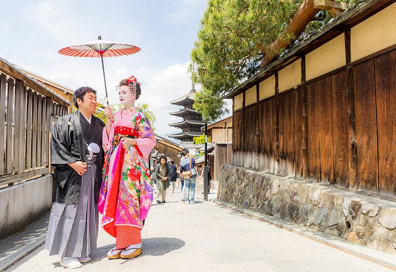 京都東山-舞妓体験