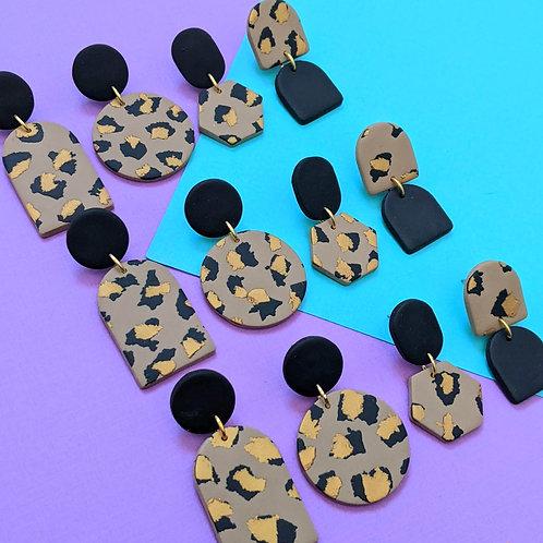 Glam Leopard - Dangles