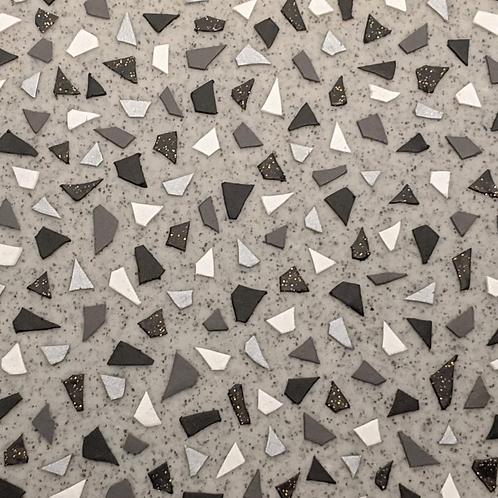 Granite Terrazzo Dangle Earrings