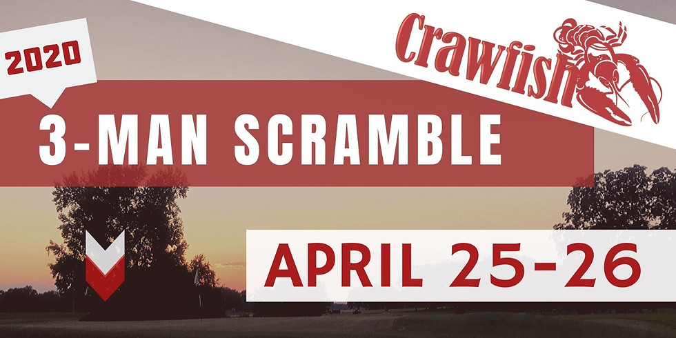 "3-Man Scramble - ""NEW DATE"""