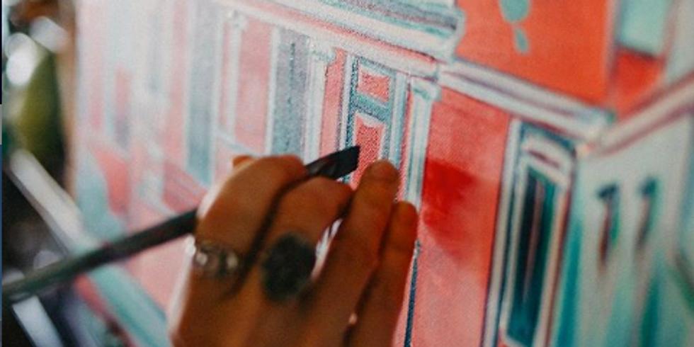 FREE: Lauren Marie Art Painting Pop Up