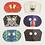 Thumbnail: Frederick & Mae Animal Mask Notecards