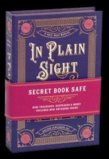 """In Plain Sight"""" Book Safe"