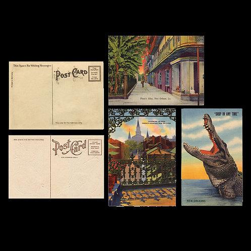 New Orleans Postcard Set