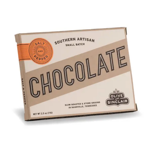 Olive & Sinclair Salt and Pepper Chocolate Bar