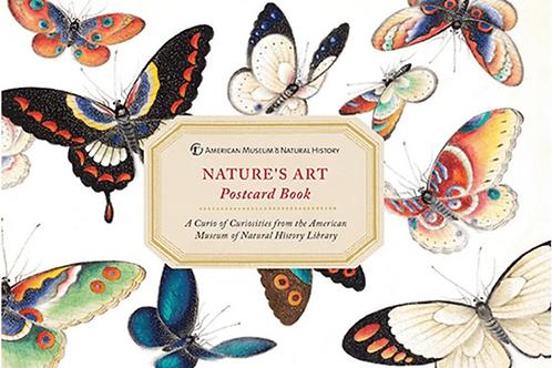 Nature's Art Postcard Book