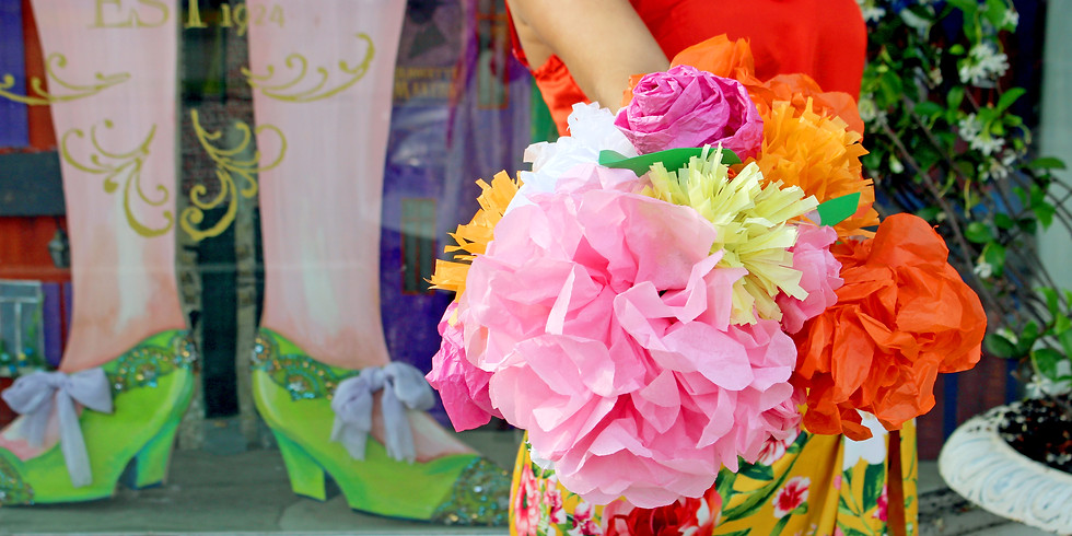 The Absolutely Positively Top Secret KIDS Club Crafts Paper Flowers!