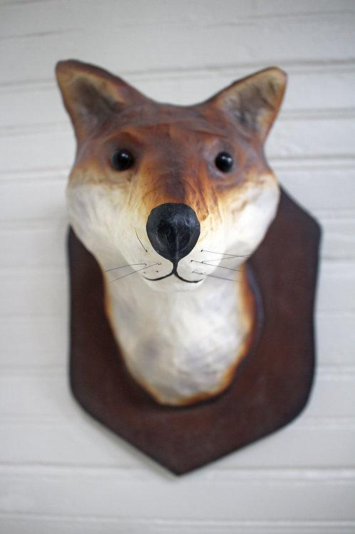Faux Trophy Mister Fox Mount