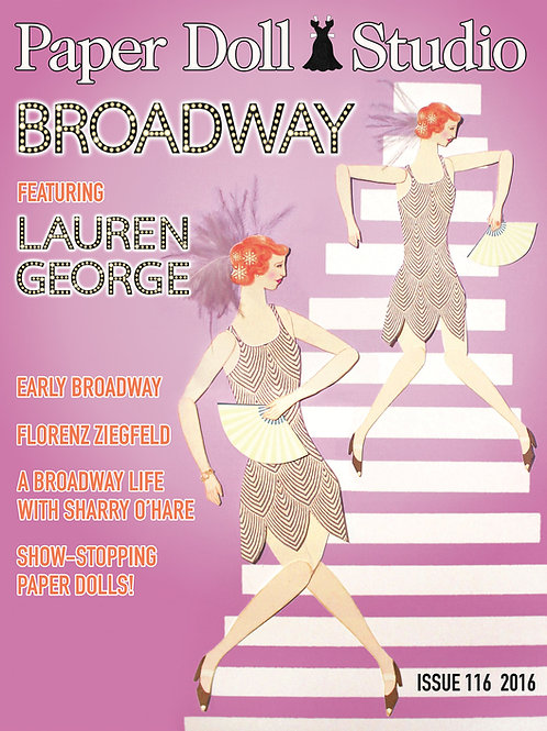 """Paper Doll Studio Magazine Issue 116 """"Broadway"""" - Signed Copy"""