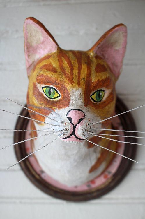 Mungojerrie Faux Trophy Cat Mount