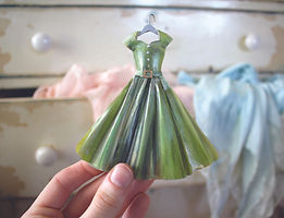 All Dolled Up Green Dress.JPG