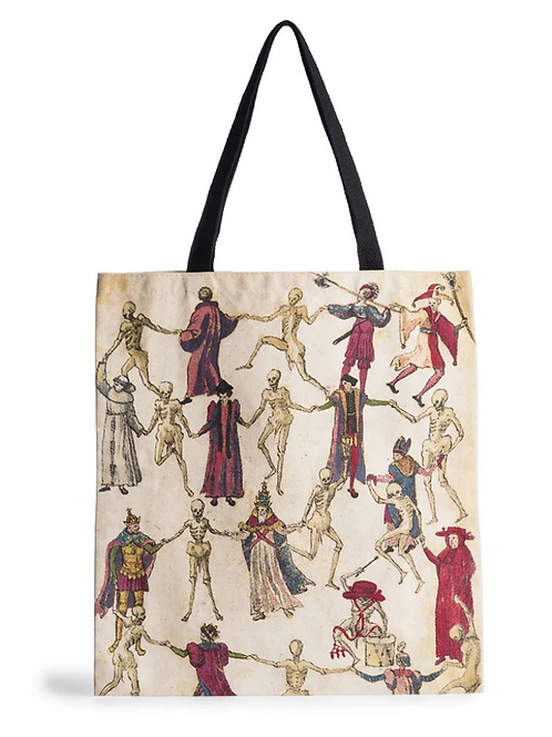 Dance of Death Tote Bag