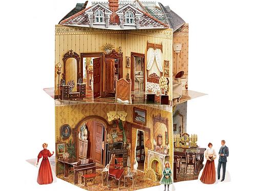 Victorian Pop Up Dollhouse