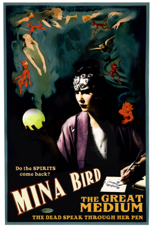 Signed Mina Bird Poster