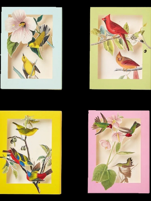 Audubon Bird Pop Up Cards