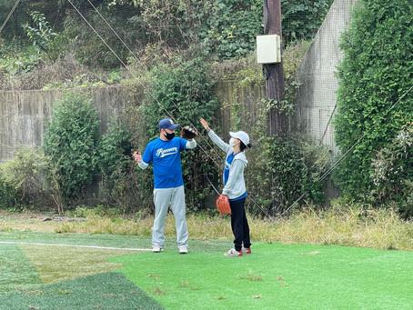 211015 야구단 훈련