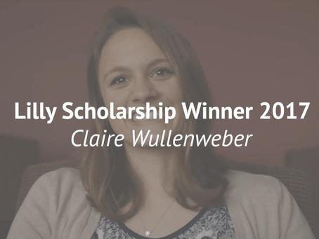 Meet Claire Wullenweber: 2017 Lilly Winner!